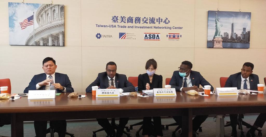 Taiwan: Ambassador Maxamed Xaaji Oo Kulan La Qaatay Ganacsato Danaynaysa Maalgashiga Somaliland