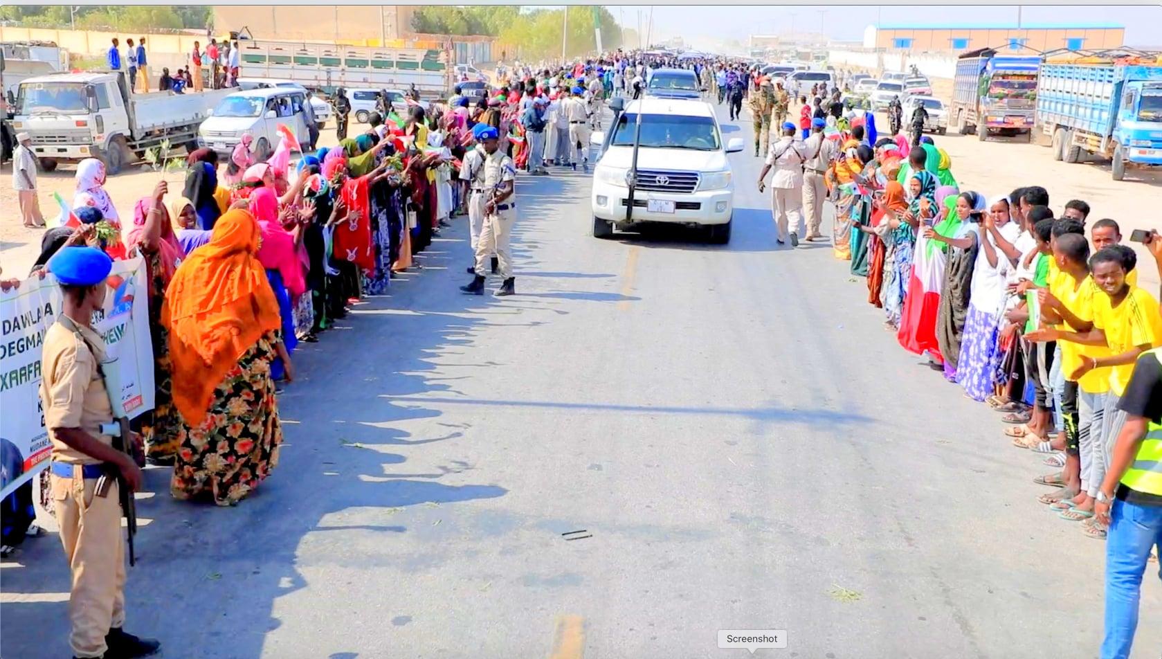 Madaxweyne Biixi Oo Safar Ugu Baxay Gobollada Bariga Somaliland