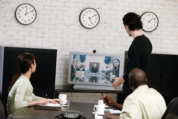 sala di videoconferenza piccola