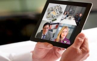 videoconferenze online tablet