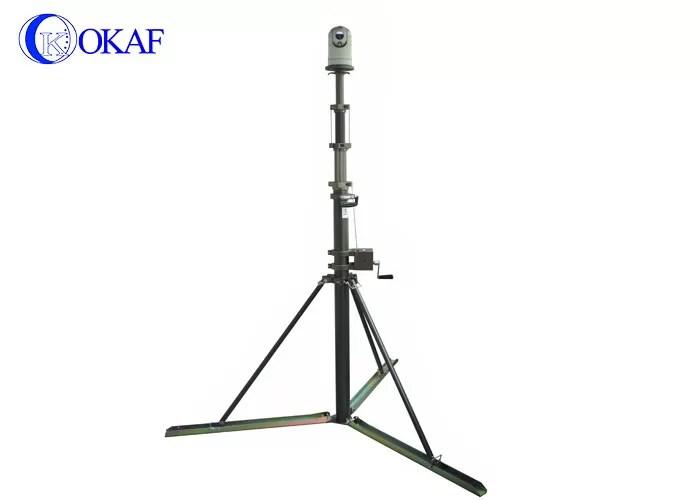 Mobile Telescopic Mast Pole Average Lift Speed 4m / Min 3
