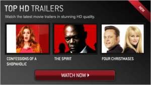 Moviefone - Top HD Trailers