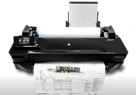 HP Designjet T120 ePrinter HP presenta soluciones conectadas para impresiones grandes desde todo lugar