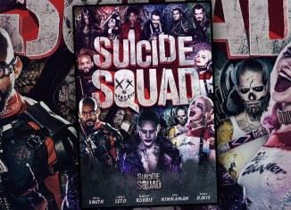 Suicide Squad Poster por Adam Pike