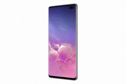 Galaxy S10+ Ceramic Black_side