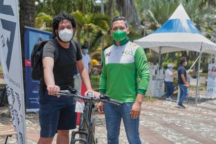 yohanan Nuñez y Edison Santos