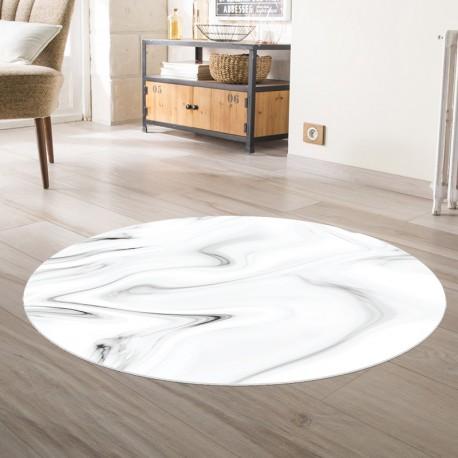 tapis vinyle rond la nouvelle orleans