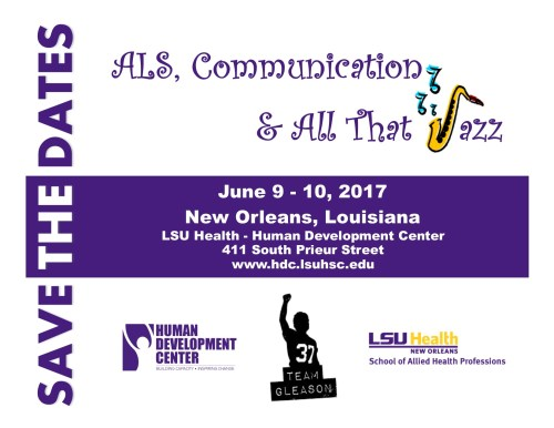 ALS Communication & All That Jazz, June 8-10, 2017