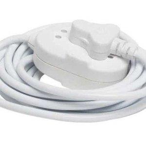 5 Meter 220V,10A Extension Cord 3-pin SA Plug to Janus 3-Pin Adapter