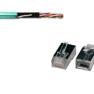 Price per Meter - CAT5e Foil Twisted Pair (FTP) 1Gb/s ISO/DEC 11801 Cable