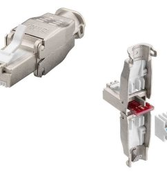 cat7 tool free shielded 22 26awg modular rj45 connector for extremely wide thick [ 1024 x 768 Pixel ]