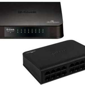 Dlink 16-port (32Gbps total bandwidth) Gigabit Network switch - 10/100/1000 Mbit/s Full Duplex Auto Sensing