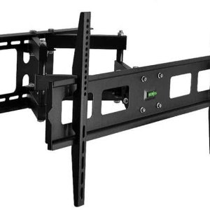37 to 70 inch Fixed / Tilt & Swivel Mount LCD / Plasma HDTV Bracket with Bubble Level Indicator