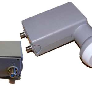SATCR / Unicable LNB with One Additional Legacy Port For DSTV Explora / HDPVR's / Single View / Dualview Decoders (4 + 1 Legacy port)