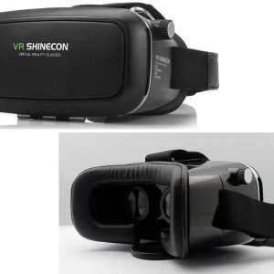 "Virtual Reality - VR Shinecon Goggles / Glasses for 3.5"" to 6"" Smartphones (Samsung's, Apple Iphone etc)"