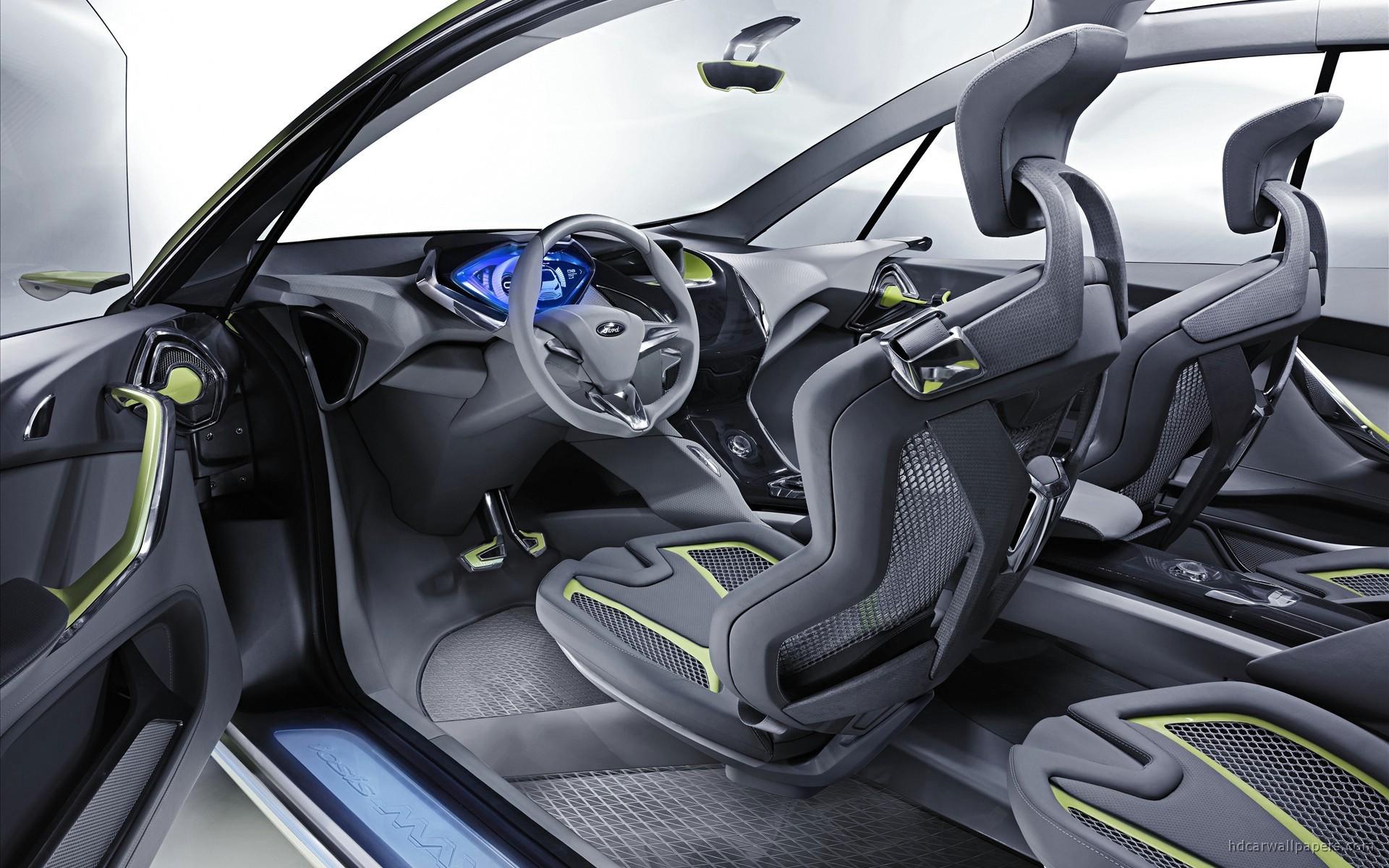 2009 Ford Iosis Max Concept Interior Wallpaper Hd Car