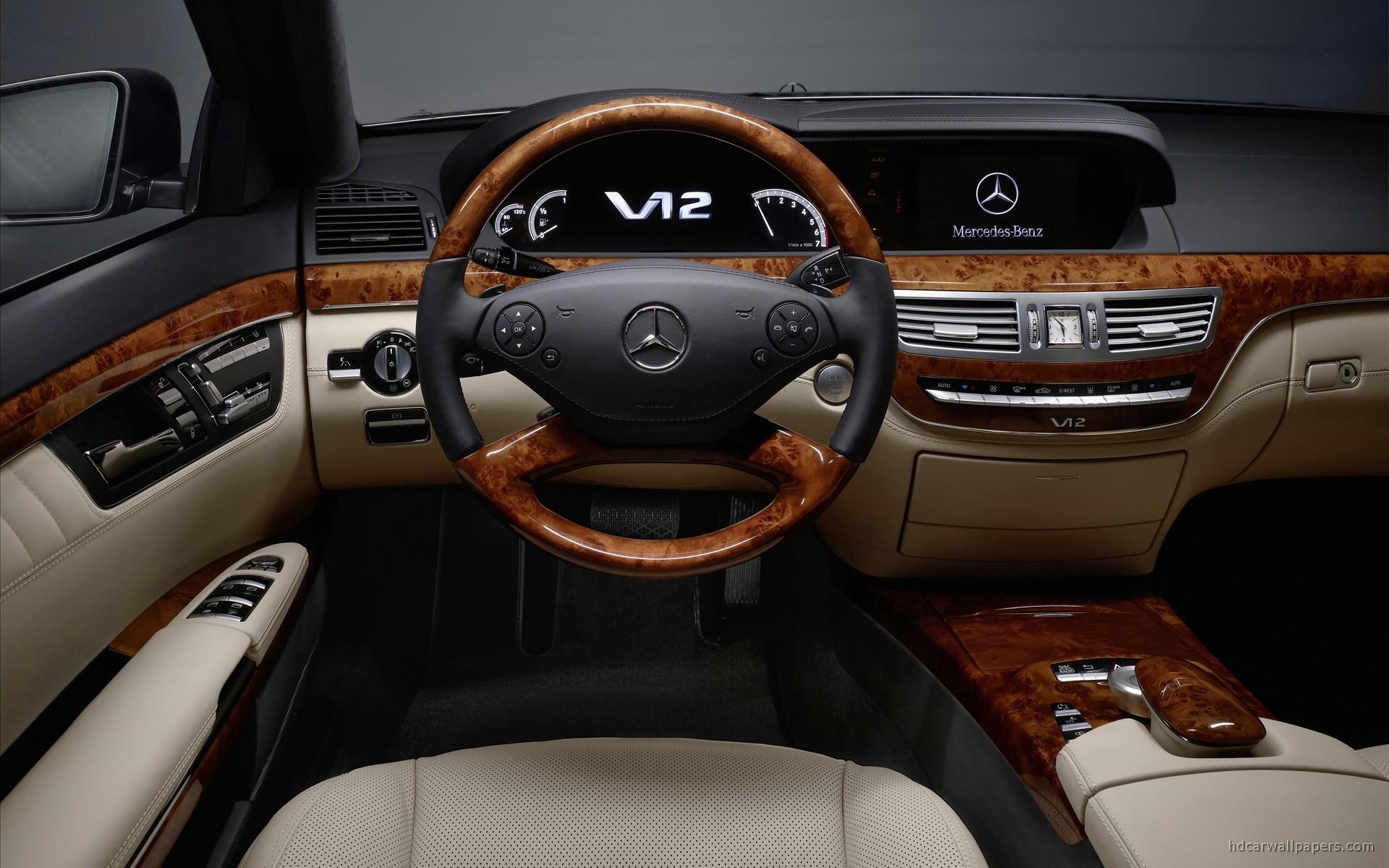 Mclaren Iphone Wallpaper 2010 Mercedes Benz S Class Interior Wallpaper Hd Car