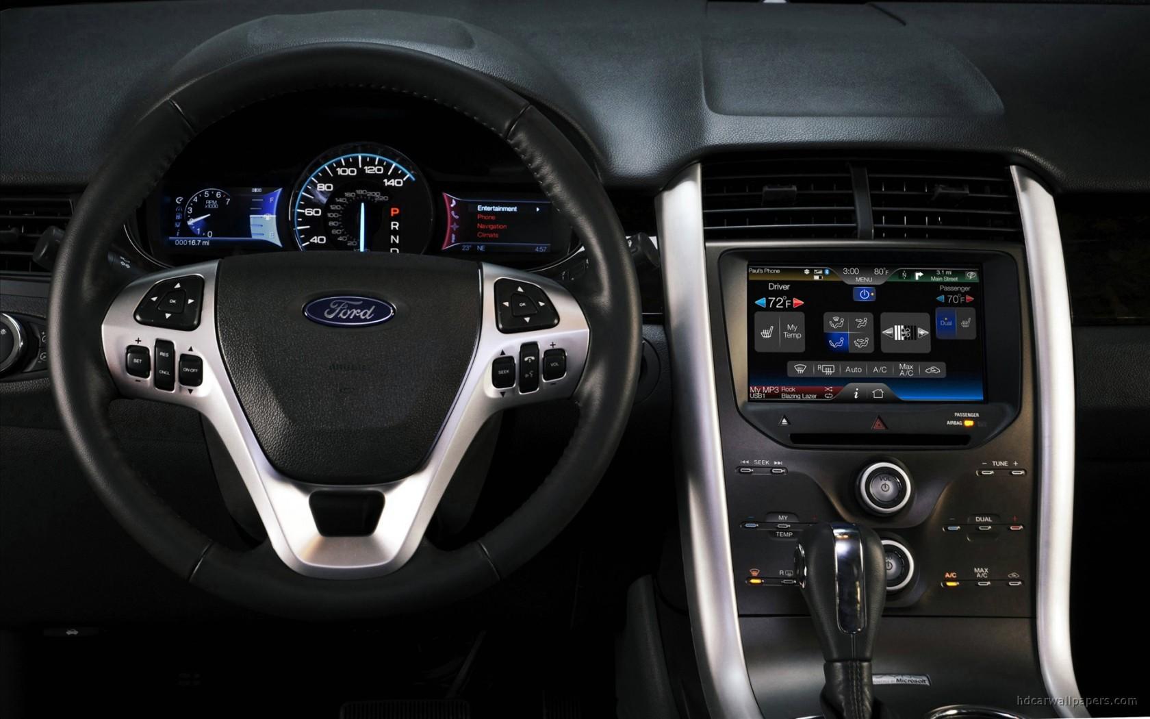2011 Ford Edge Sport Interior Wallpaper  HD Car