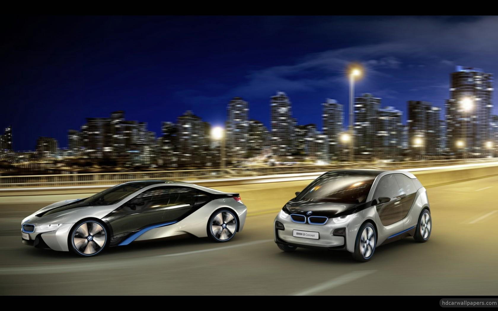 High Performance Car Pc Desktop Wallpaper 2012 Bmw I8 Amp I3 Concept Cars 3 Wallpaper Hd Car