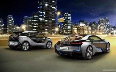 2012 BMW i8 & i3 Concept Cars 4 Wallpaper | HD Car ...