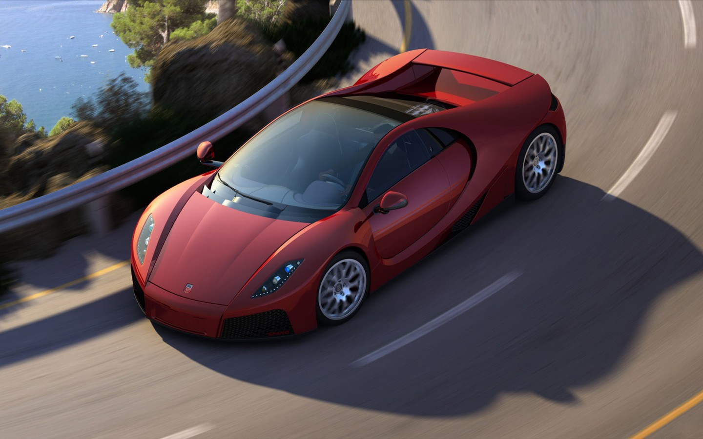 2012 Gta Spano Wallpaper Hd Car Wallpapers Id 2496