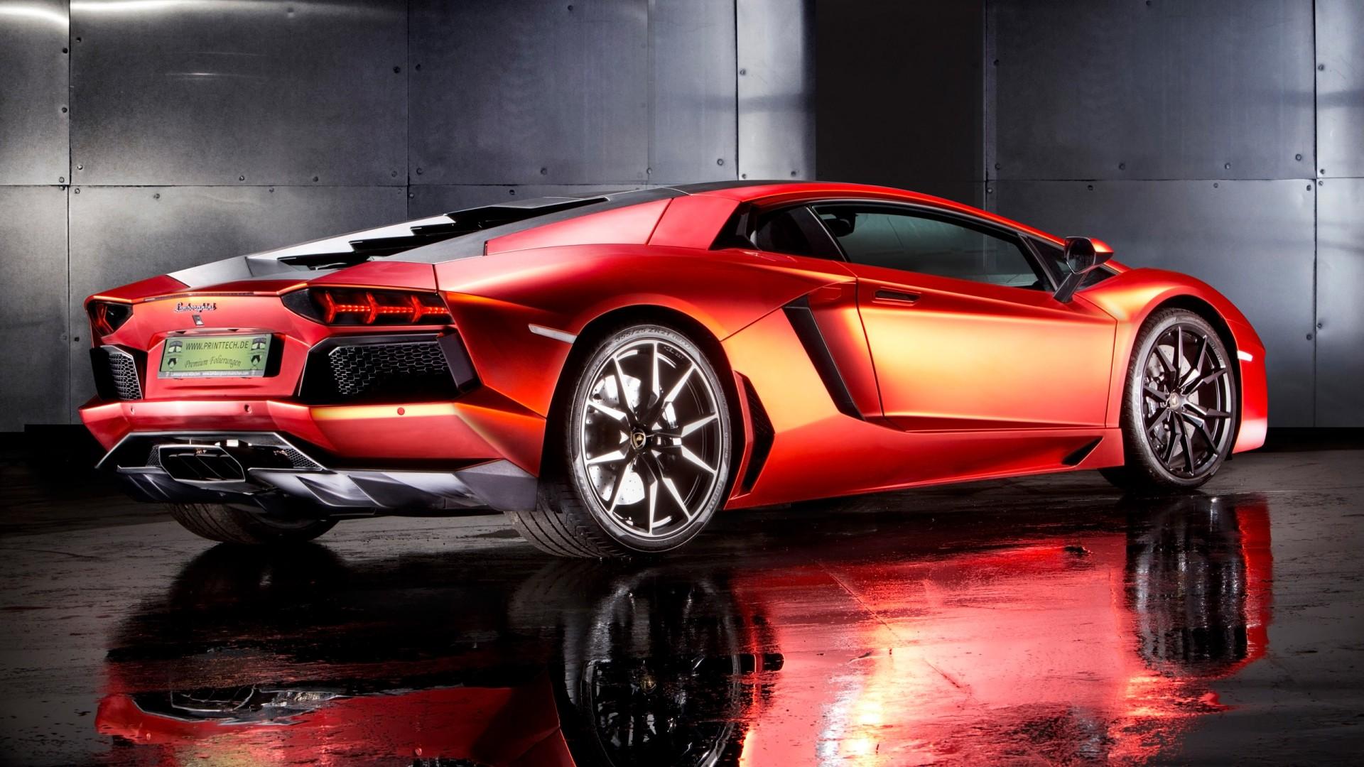 Red Jaguar Car Wallpaper Hd 2013 Lamborghini Aventador By Print Tech 2 Wallpaper Hd