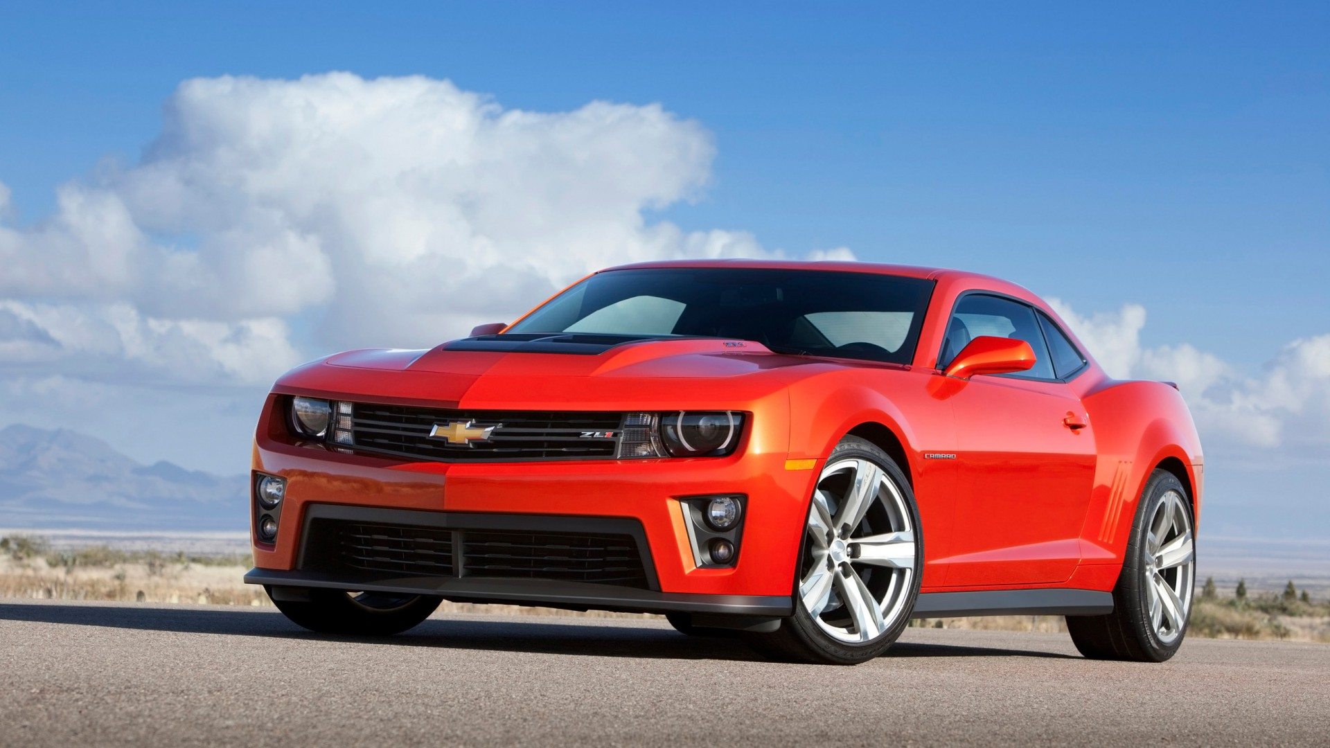 2014 Chevrolet Camaro ZL1 Coupe Wallpaper HD Car