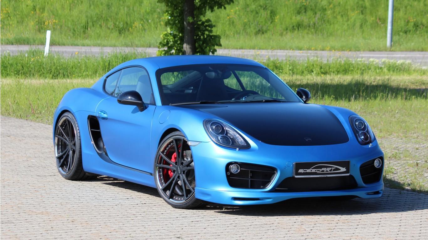 Latest Car Wallpaper 2014 2014 Speedart Porsche Cayman Sp81 Cr Wallpaper Hd Car