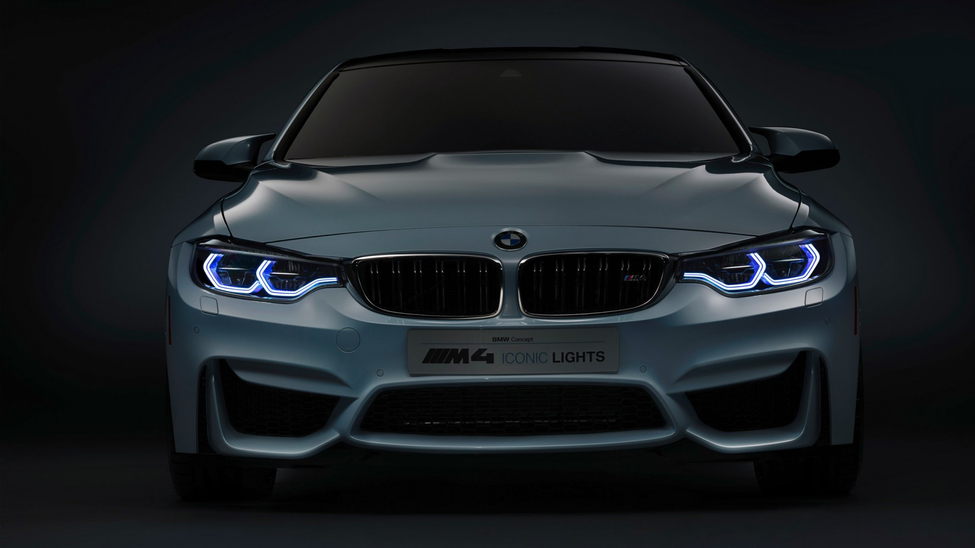 Iphone Wallpaper Muscle Car 2015 Bmw M4 Concept Iconic Lights Wallpaper Hd Car
