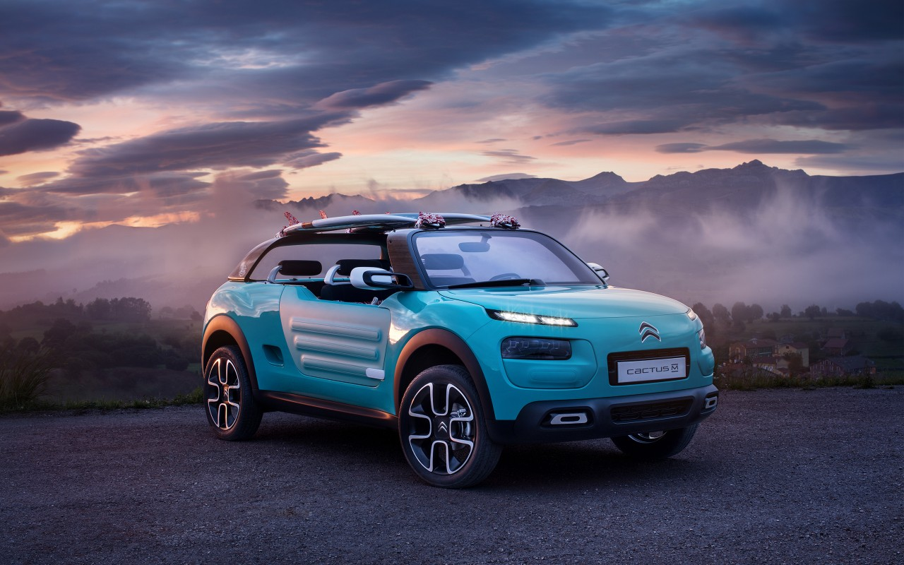 Hd Wallpapers Cars Interior 2015 Citroen Cactus M Concept Wallpaper Hd Car