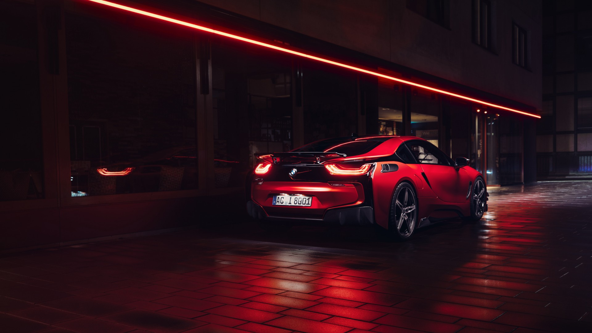 2017 AC Schnitzer ACS8 BMW I8 6 Wallpaper HD Car