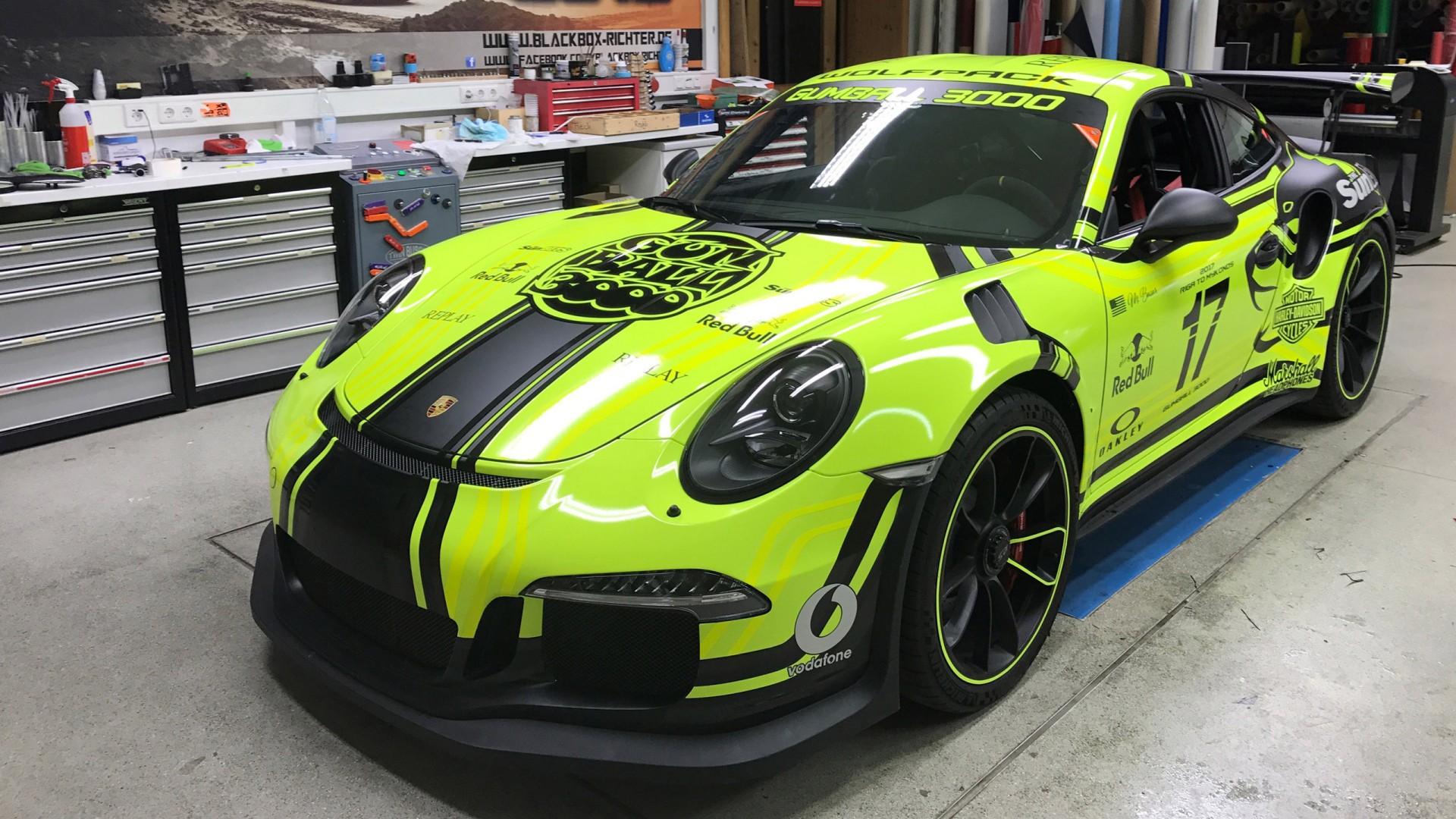 Gumball Cars Wallpapers 2017 Black Box Porsche 911 Gt3 Rs Wallpaper Hd Car