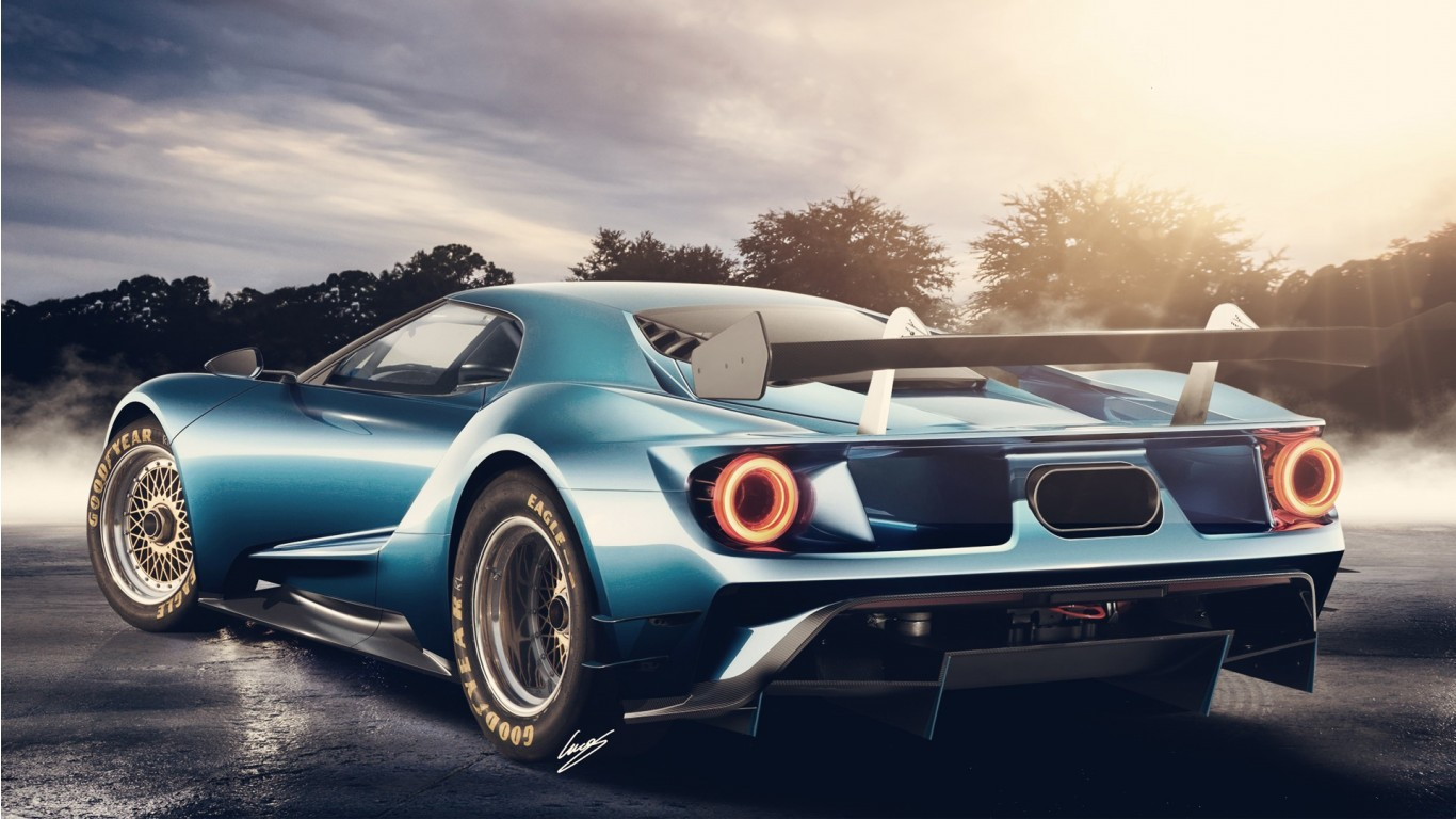 2017 Ford GT Concept Wallpaper HD Car Wallpapers ID 5441