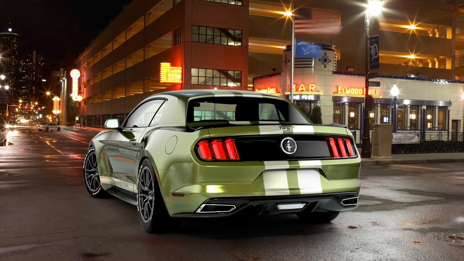 Mustang Wallpaper Iphone X 2017 Ford Mustang Notchback Design 2 Wallpaper Hd Car