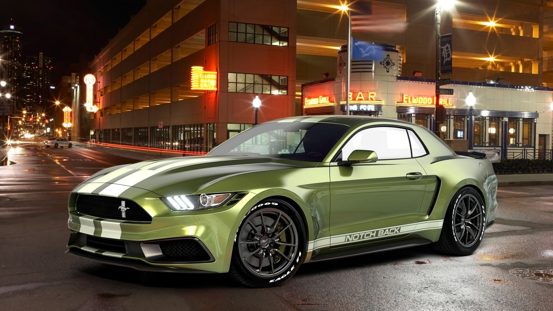 Lincoln Wallpaper Car 2017 Ford Mustang Notchback Design 3 Wallpaper Hd Car