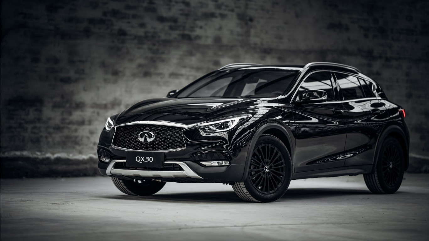 Bmw Iphone X Wallpaper 2017 Infiniti Qx30 Night Edition Wallpaper Hd Car