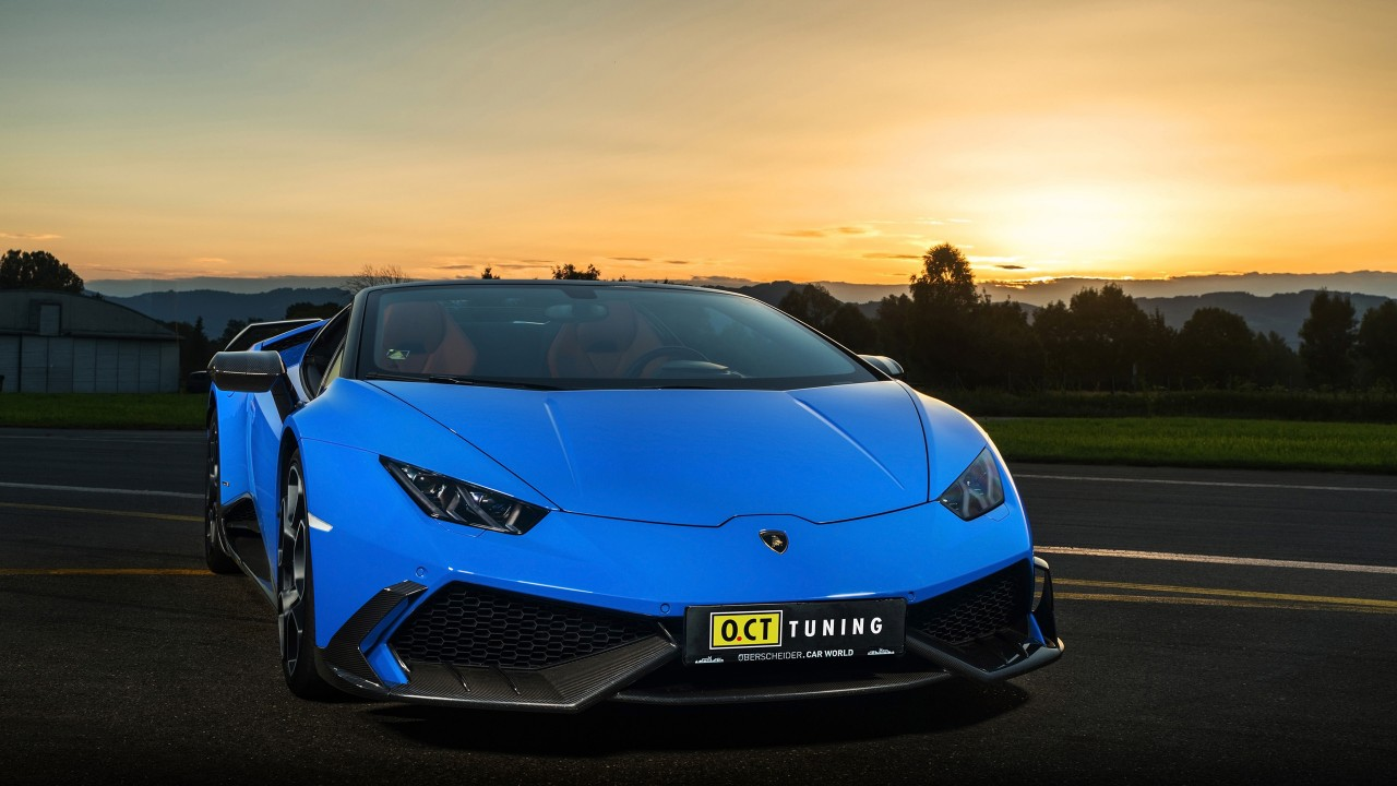 2017 OCT Tuning Lamborghini Huracan 2 Wallpaper HD Car