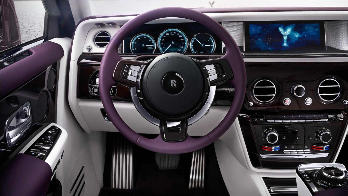 2017 Rolls Royce Phantom EWB Interior Wallpaper  HD Car
