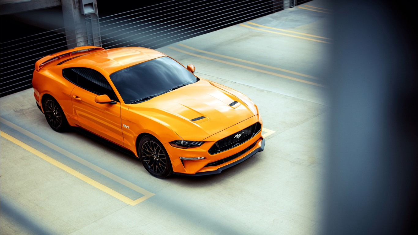 Police Iphone X Wallpaper 2018 Ford Mustang Gt Fastback Sports Car 4k Wallpaper Hd