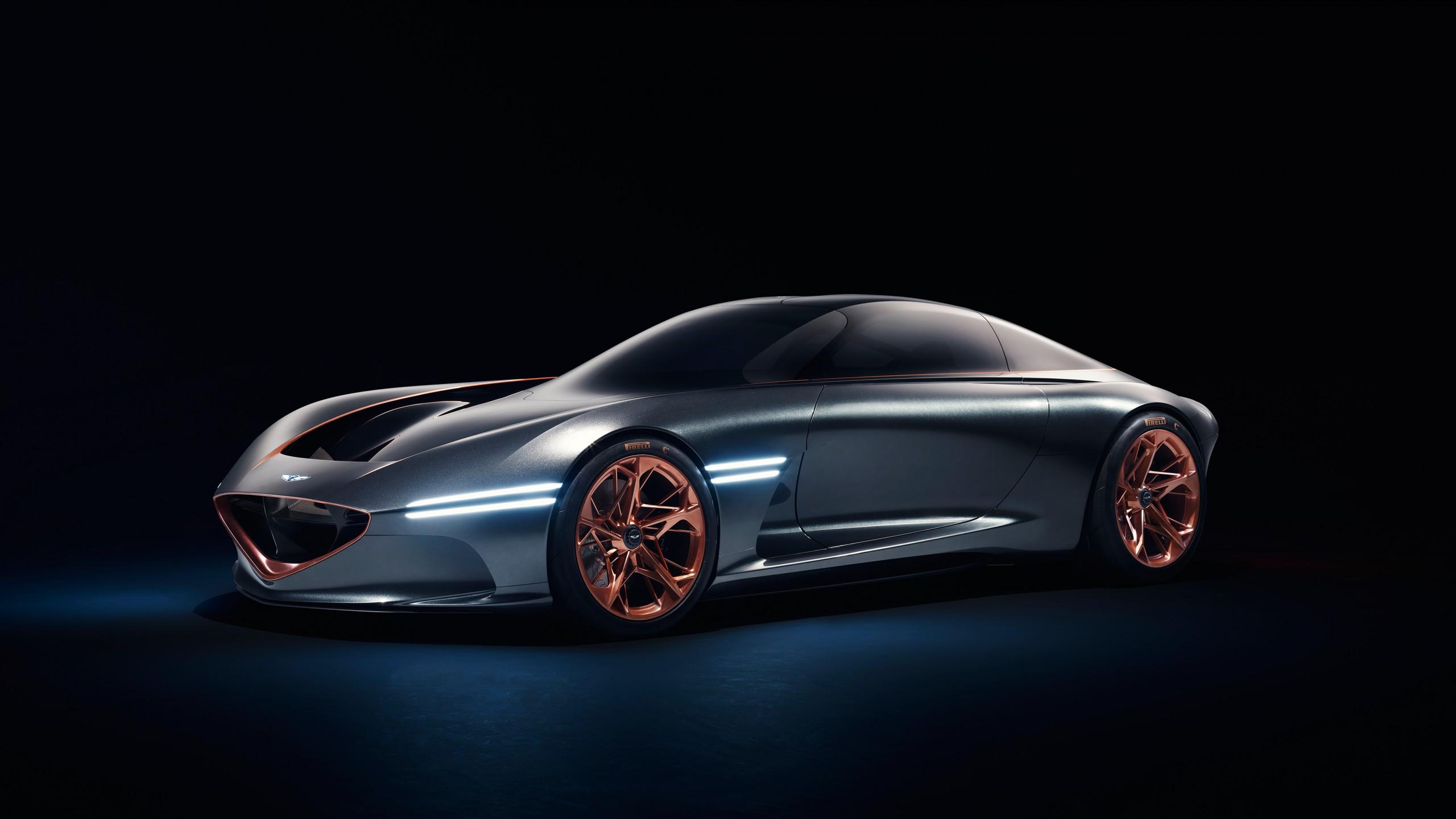 Luxury Car Iphone Wallpaper 2018 Genesis Essentia Concept 4k 5 Wallpaper Hd Car
