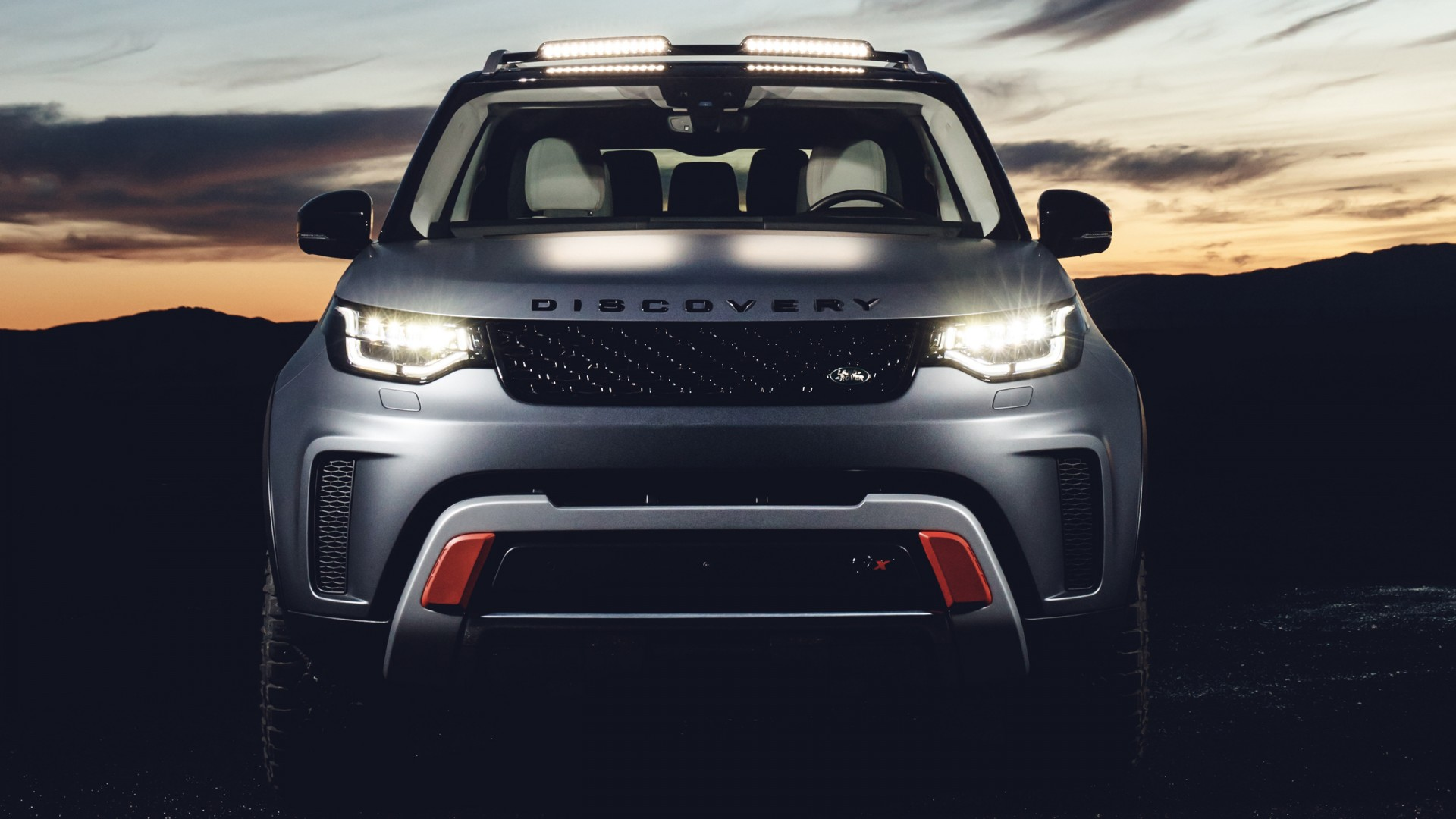 Tuning Car Iphone Wallpaper 2018 Land Rover Discovery Svx Wallpaper Hd Car