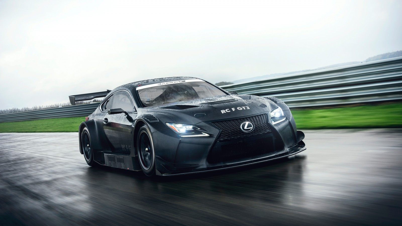 2018 Lexus Rc F Gt3 3 Wallpaper Hd Car Wallpapers Id 7501