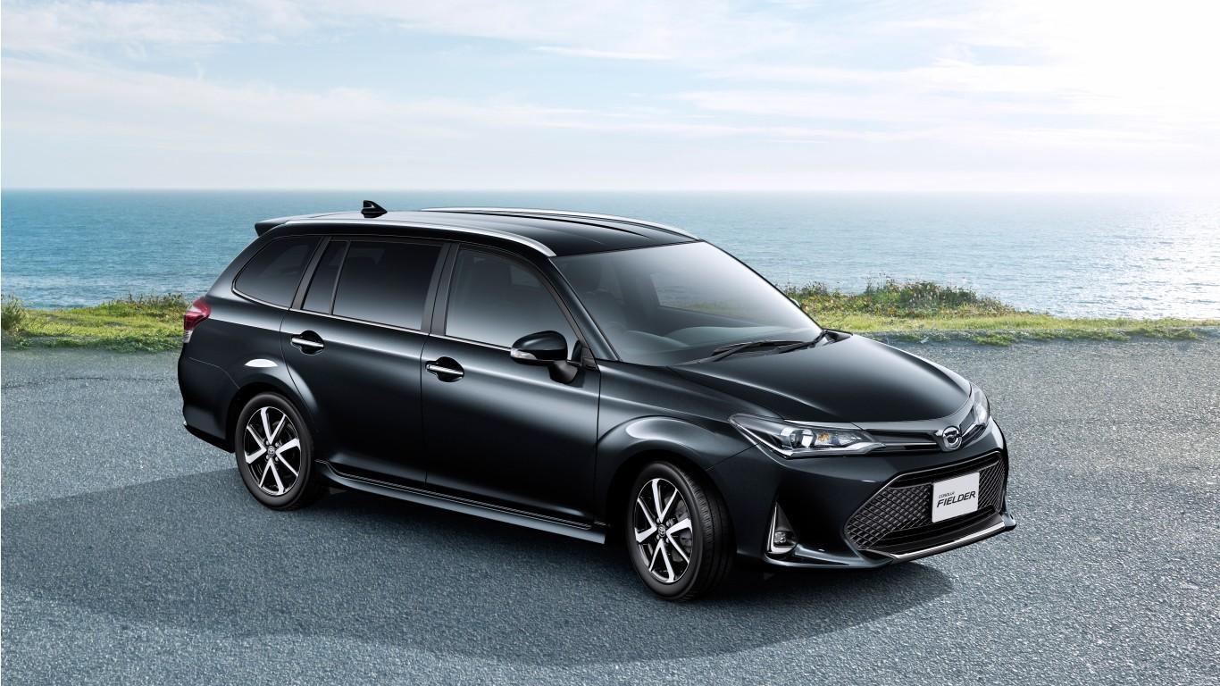 Toyota Land Cruiser Hd Wallpaper 2018 Toyota Corolla Fielder 4k Wallpaper Hd Car