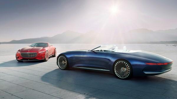 2018 Vision Mercedes Maybach 6 Cabriolet 4k Wallpaper Hd Car Wallpapers Id #8280