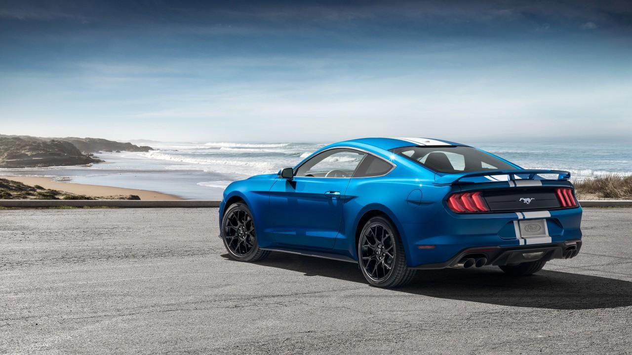 1080p Car Wallpaper Pack 2019 Ford Mustang Ecoboost Performance Pack 4k 2 Wallpaper