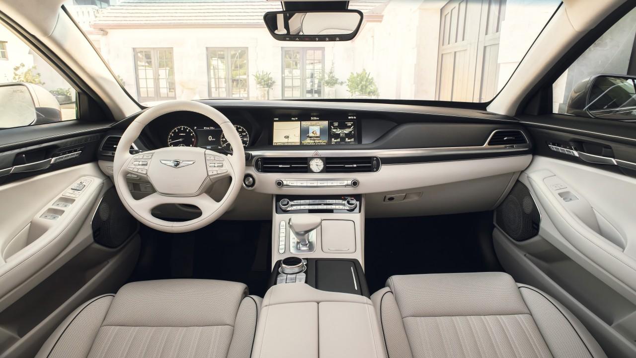 2020 Genesis G90 4k Interior Wallpaper Hd Car Wallpapers