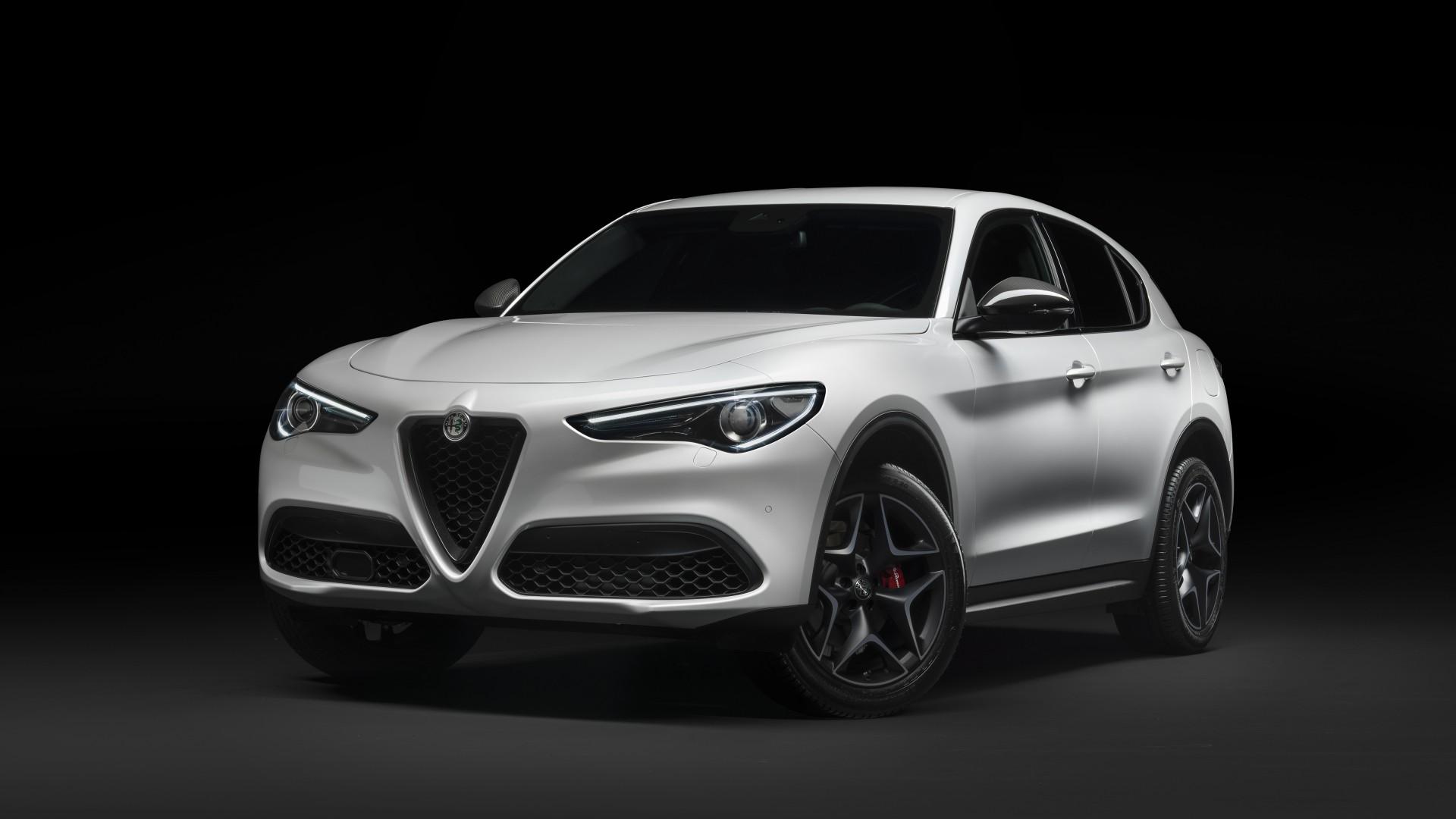 Alfa Romeo Stelvio Ti 2019 5K Wallpaper HD Car