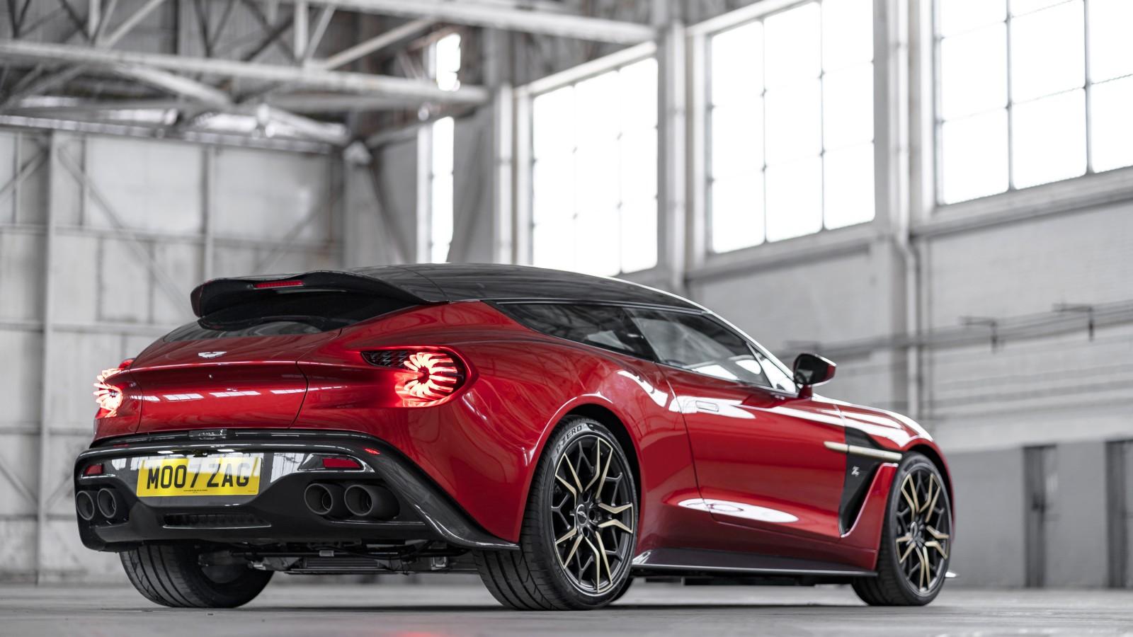 Zagato Car Wallpaper Aston Martin Vanquish Zagato Shooting Brake 2019 4k