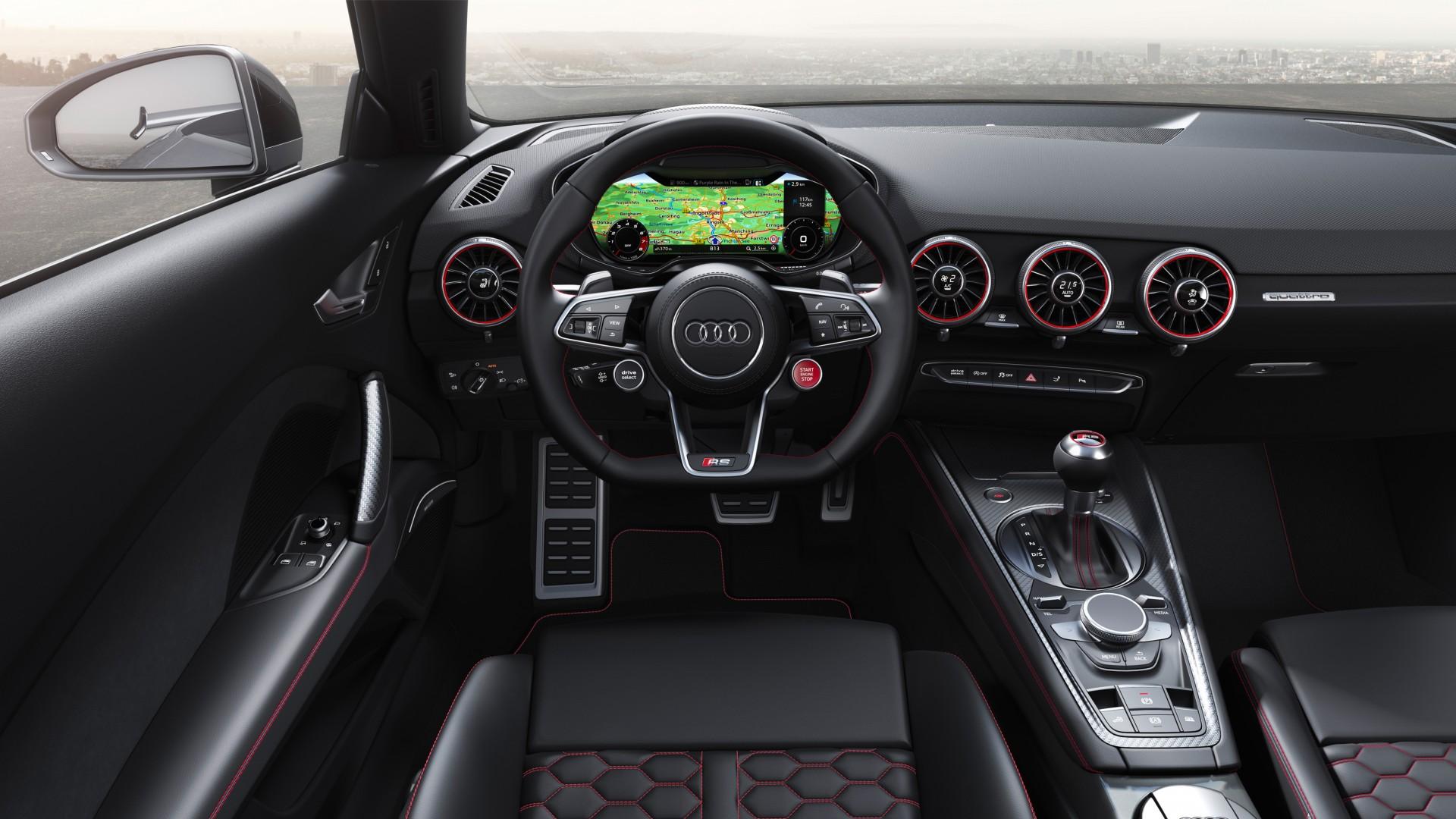 Audi Tt Rs Roadster 2019 4k Interior Wallpaper Hd Car