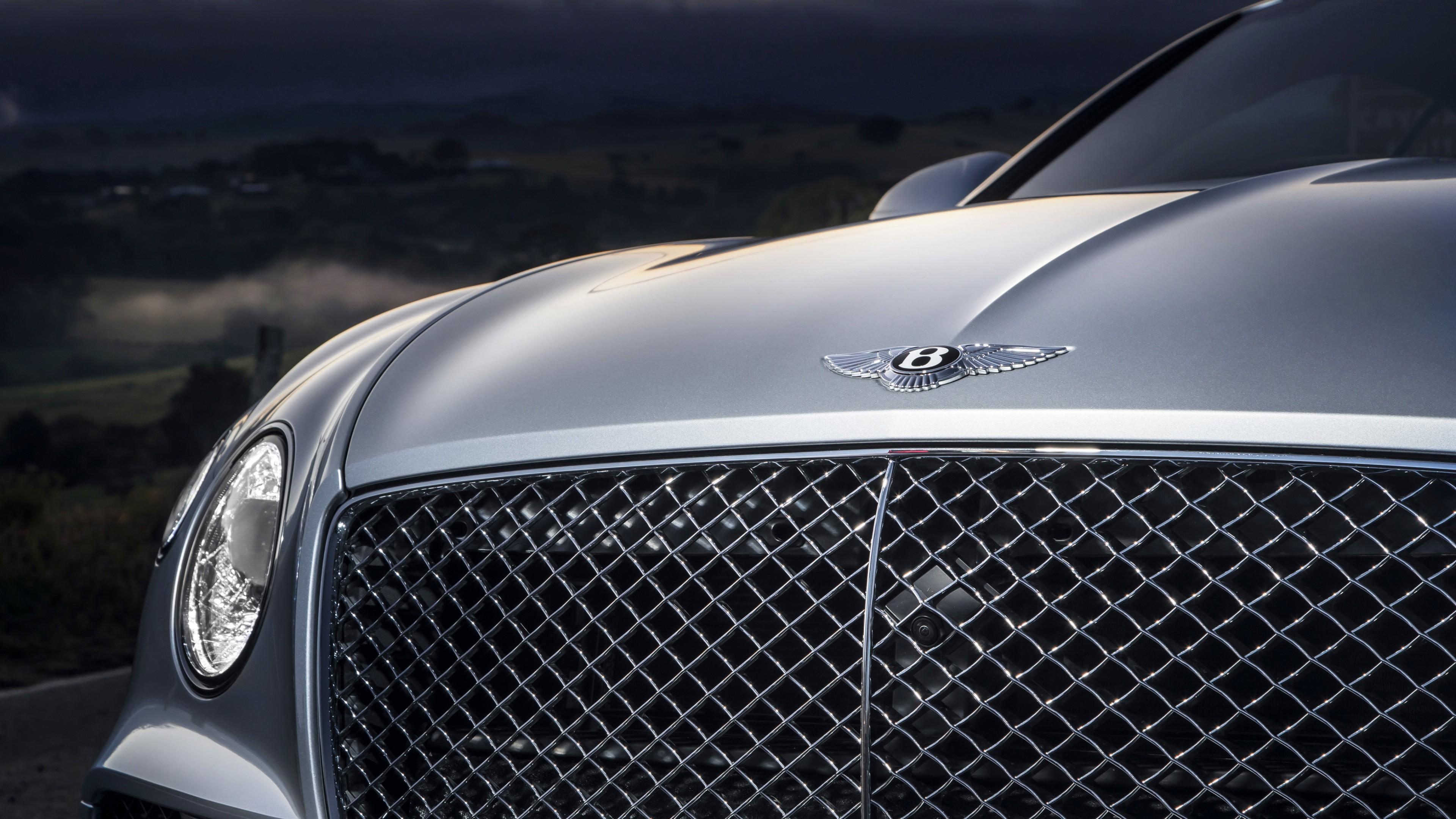 Bentley Continental Gt 2018 4k 2 Wallpaper Hd Car